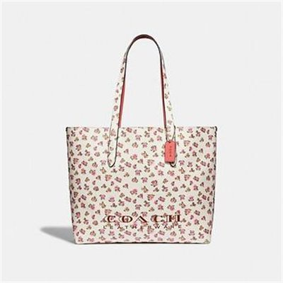 Fashion 4 Coach HIGHLINE TOTE WITH FLORAL PRINT