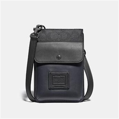 Fashion 4 Coach HYBRID POUCH WITH SIGNATURE CANVAS BLOCKING