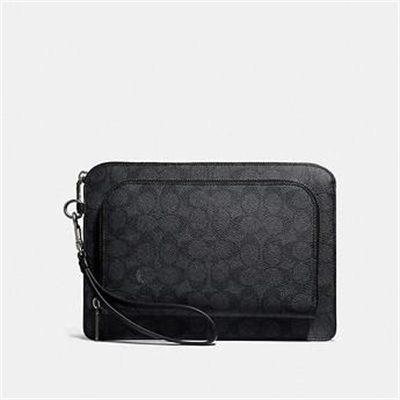 Fashion 4 Coach KENNEDY POUCH IN SIGNATURE CANVAS