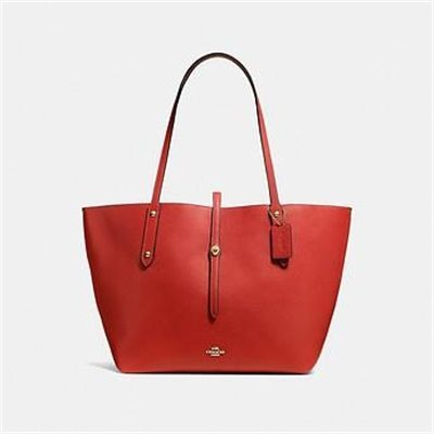 Fashion 4 Coach MARKET TOTE IN POLISHED PEBBLE LEATHER