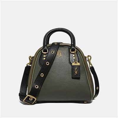 Fashion 4 Coach MARLEIGH SATCHEL IN COLORBLOCK WITH COACH PATCH