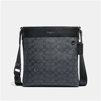 Fashion 4 Coach METROPOLITAN SLIM MESSENGER IN SIGNATURE CANVAS