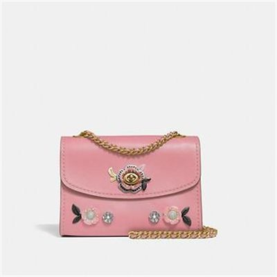 Fashion 4 Coach PARKER 18 WITH ALLOVER TEA ROSE STONES