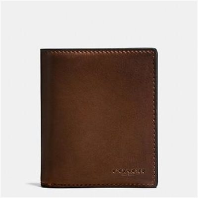 Fashion 4 Coach SLIM COIN WALLET IN SPORT CALF LEATHER