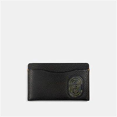 Fashion 4 Coach SMALL CARD CASE WITH KAFFE FASSETT COACH PATCH