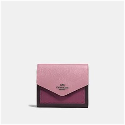 Fashion 4 Coach SMALL WALLET IN COLORBLOCK LEATHER