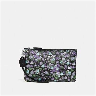 Fashion 4 Coach SMALL WRISTLET WITH POSEY CLUSTER PRINT