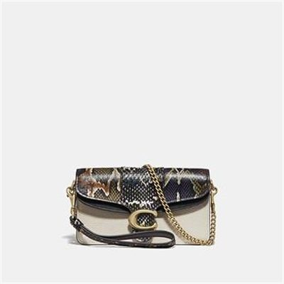 Fashion 4 Coach TABBY CROSSBODY WITH SNAKESKIN DETAIL