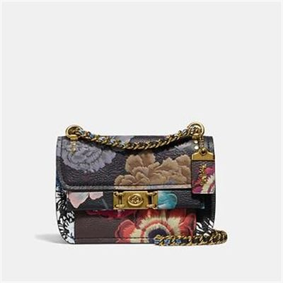 Fashion 4 Coach TROUPE CROSSBODY WITH KAFFE FASSETT PRINT