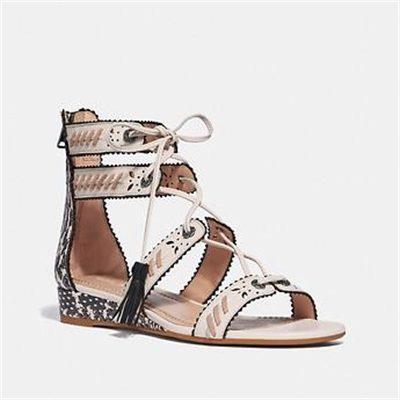 Fashion 4 Coach VIA DEMI WEDGE SANDAL