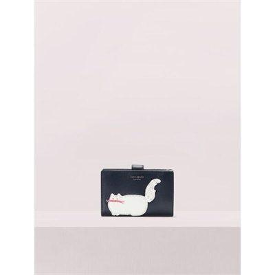 Fashion 4 - beaded cat bifold wallet
