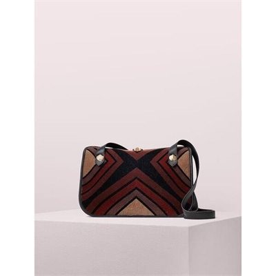 Fashion 4 - farrah flocked velvet large shoulder bag