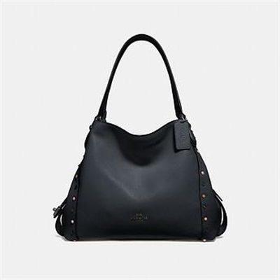Fashion 4 Coach EDIE SHOULDER BAG 31 WITH RIVETS