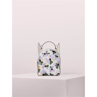 Fashion 4 - amelia embellished floral mini convertible backpack