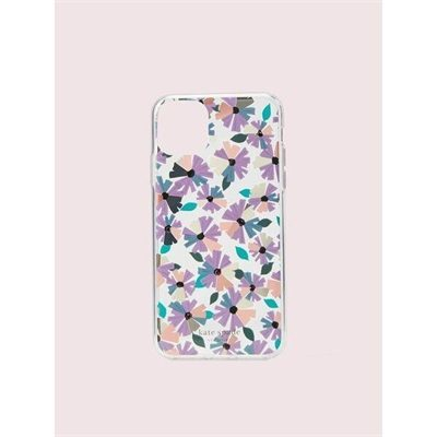 Fashion 4 - jeweled clear wallflower iphone 11 pro max case