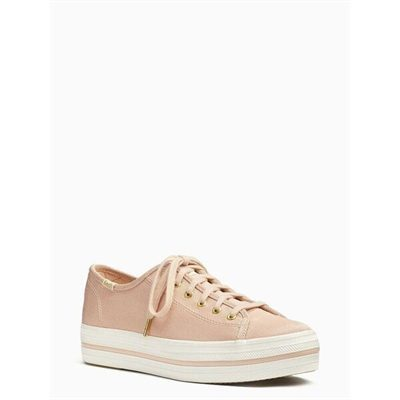 Fashion 4 - keds x kate spade new york triple kick faille sneakers