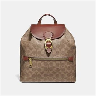 Fashion 4 Coach EVIE BACKPACK IN SIGNATURE CANVAS