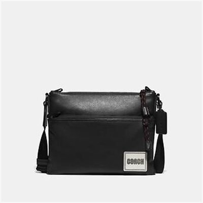Fashion 4 Coach PACER CROSSBODY WITH COACH PATCH