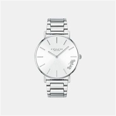 Fashion 4 Coach PERRY SILVER BRACELET WATCH