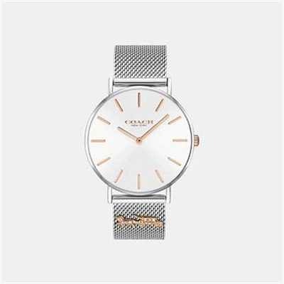 Fashion 4 Coach PERRY SILVER MESH BRACELET WATCH
