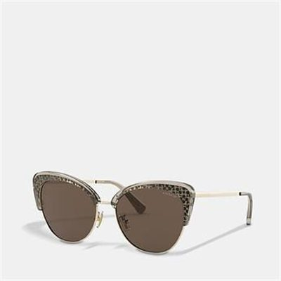 Fashion 4 Coach SIGNATURE CAT EYE SUNGLASSES