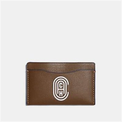 Fashion 4 Coach SMALL CARD CASE WITH COACH PATCH