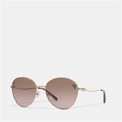 Fashion 4 Coach TEA ROSE OVAL SUNGLASSES