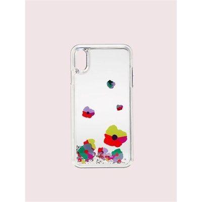 Fashion 4 - collage liquid glitter iphone xs max case