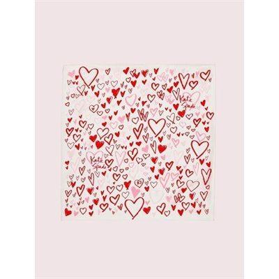 Fashion 4 - heart scribbles bandana