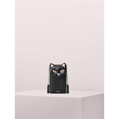 Fashion 4 - meow cat north south flip phone crossbody