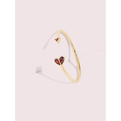 Fashion 4 - rock solid stone heart flex cuff