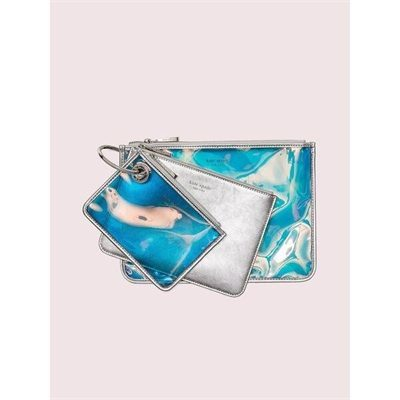 Fashion 4 - sam iridescent pouch trio