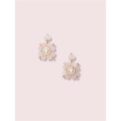 Fashion 4 - spade flower drop earrings