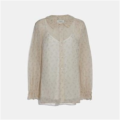 Fashion 4 Coach DOT GEORGETTE BLOUSE