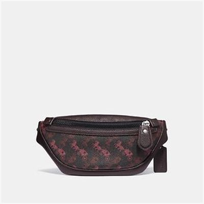 Fashion 4 Coach RIVINGTON BELT BAG 7 WITH HORSE AND CARRIAGE PRINT