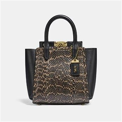 Fashion 4 Coach TROUPE TOTE 16 IN SNAKESKIN