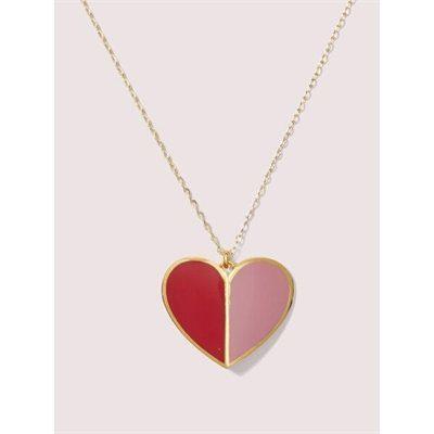 Fashion 4 - heritage spade enamel heart pendant