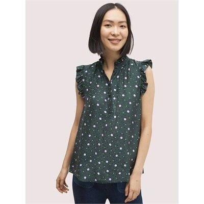 Fashion 4 - pop dots shell top