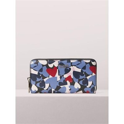 Fashion 4 - spencer heart party zip-around continental wallet