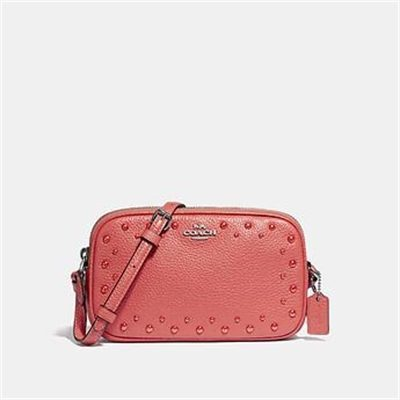 Fashion 4 Coach CROSSBODY POUCH WITH STUDS