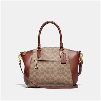 Fashion 4 Coach ELISE SATCHEL IN SIGNATURE CANVAS