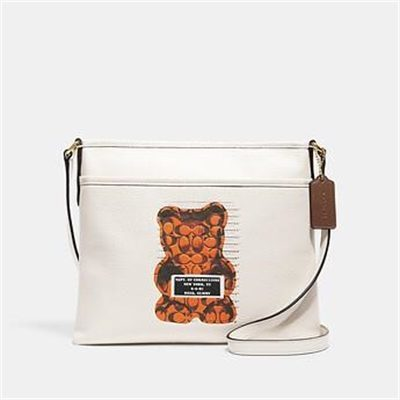Fashion 4 Coach FILE CROSSBODY WITH VANDAL GUMMY