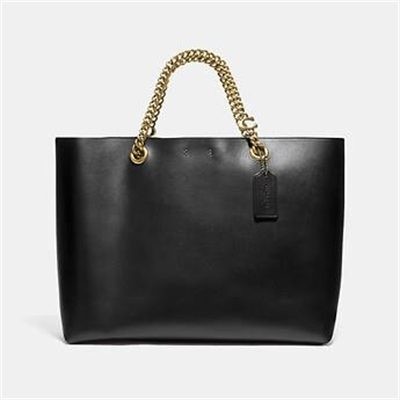 Fashion 4 Coach SIGNATURE CHAIN CENTRAL TOTE