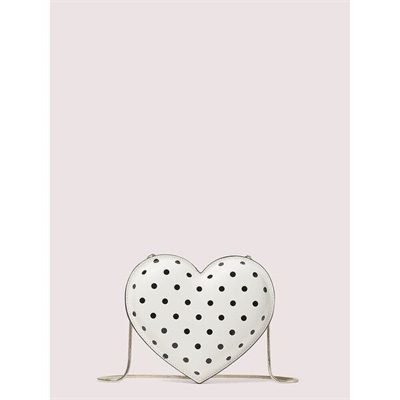 Fashion 4 - 3d cabana dot heart crossbody