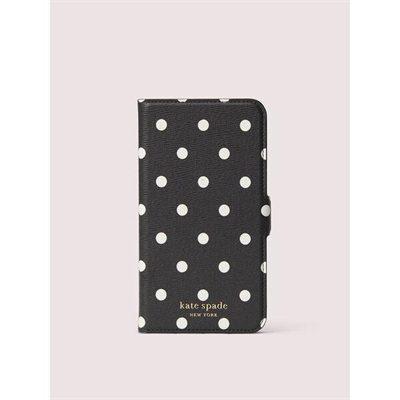 Fashion 4 - cabana dot iphone 11 magnetic wrap folio case