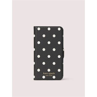 Fashion 4 - cabana dot iphone 11 pro magnetic wrap folio case
