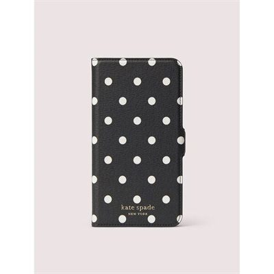 Fashion 4 - cabana dot iphone 11 pro max magnetic wrap folio case