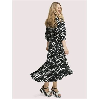 Fashion 4 - cloud dot wrap dress