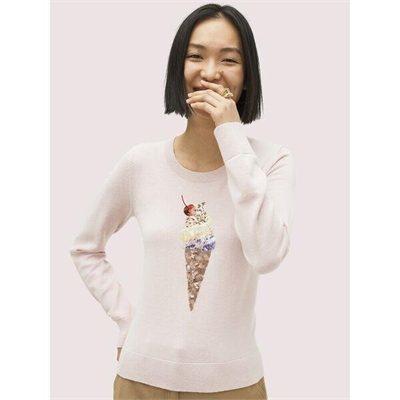 Fashion 4 - embellished ice cream sweater