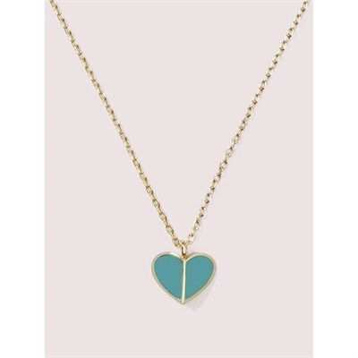 Fashion 4 - enamel heart mini pendant